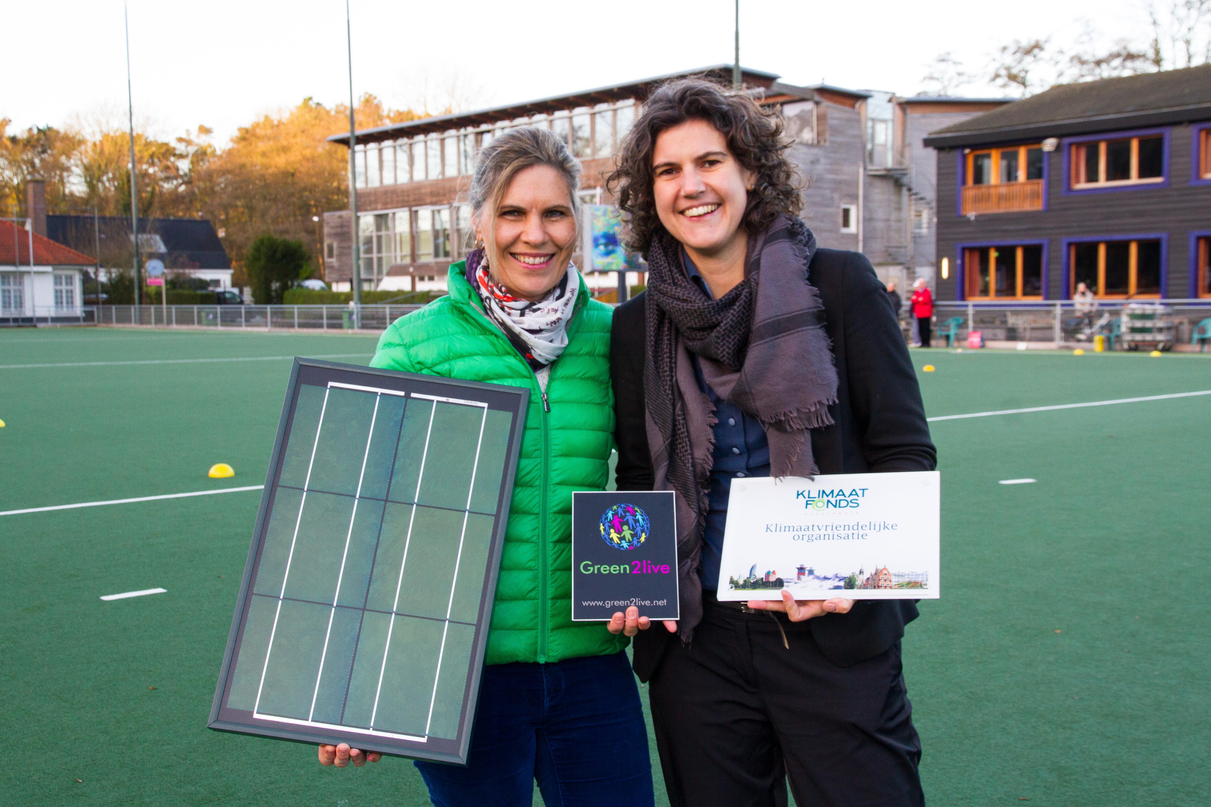 Klimaatvriendelijke organisatie Green2live