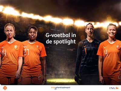 G-voetbal in de spotlight