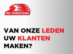 Word sponsor van De Foresters