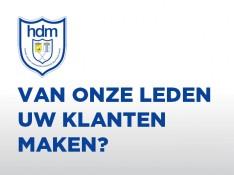 Word sponsor van hdm