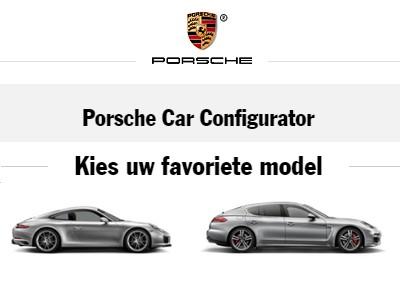 Stel uw droom-Porsche samen