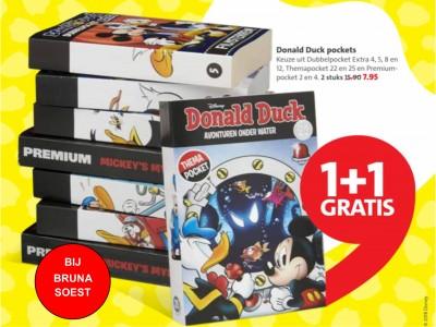 Donald Duck weken bij Bruna Soest