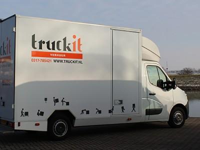 Voor elke Klus, een Truckit Bus!
