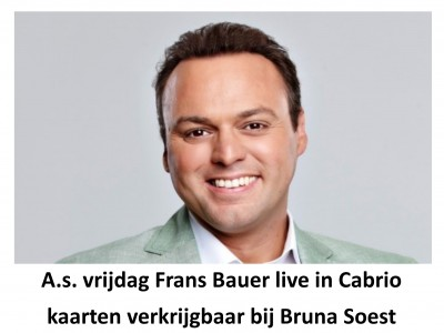 Frans Bauer bij Bruna Soest