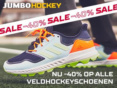 -40% op schoenen bij Jumbo Hockey!