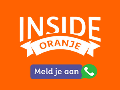 Inside Oranje: Meld je aan!