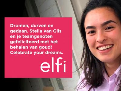 Gefeliciteerd Stella!