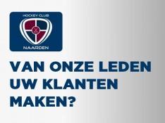 Word sponsor van HC Naarden!