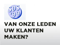 Word sponsor van SDS '99!