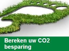 Bereken uw CO2 besparing!