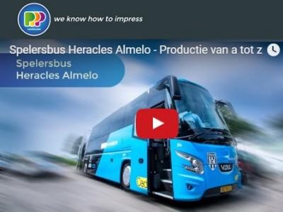 Nieuwe spelersbus Heracles Almelo