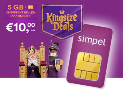 Simpel Kingsize Deals