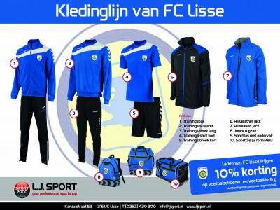 Kledinglijn FC Lisse