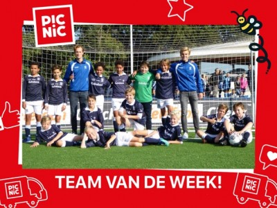 Team van de Week 1 JO13-2