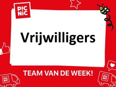 Week 11: vrijwilligers