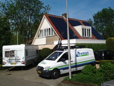 Sharp en SolarWatt zonnepanelen