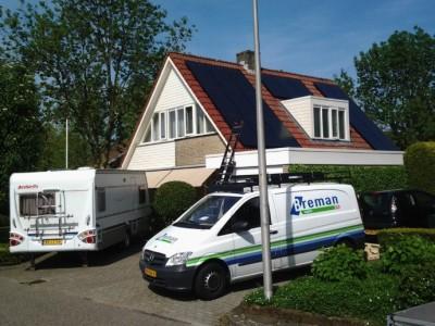 Sharp en SolarWatt zonnepanelen
