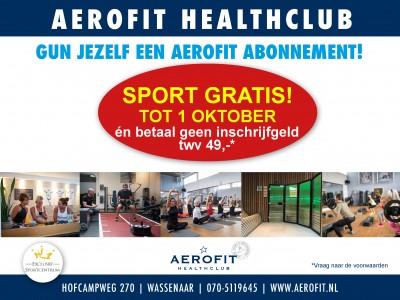 Sport GRATIS* tot 1 oktober