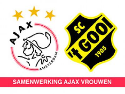 Samenwerking met Ajax vrouwen