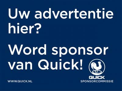 Word sponsor van Quick!